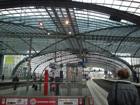 neuer Berlin Hauptbahnhof