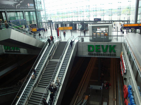 Hauptausgang Hauptbahnhof Berlin