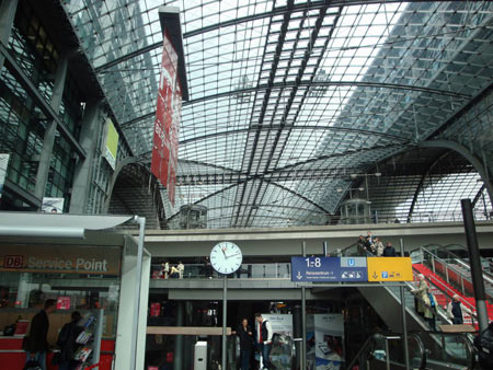 Hauptausgang Hbf Berlin