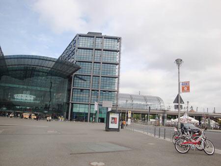 Rechter Bahnhofsteil - Hauptbahnhof Berlin