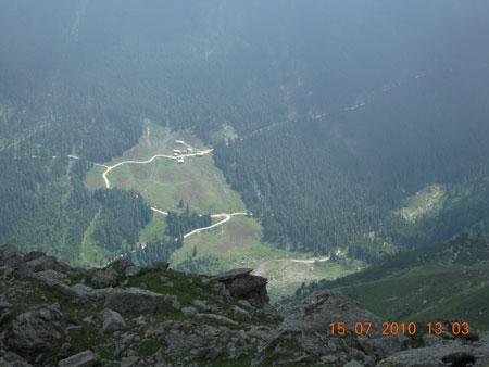 Panorama am Glungetzer