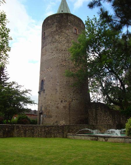 Der Diebsturm, ehemals Stadtbefestigung, heute Aussichtsturm