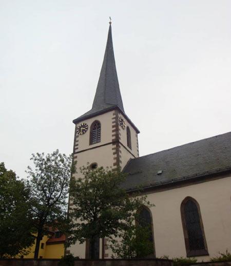 Kirche in Poppenhausen