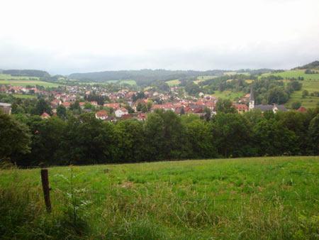 Blick auf Poppenhausen / Rhön