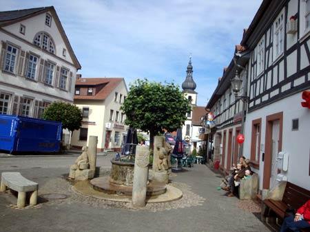 Ortskern Gersfeld / Rhön