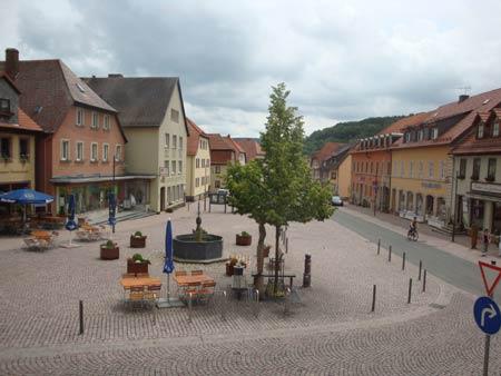 Bischofsheim, Marktplatz