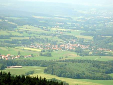 Blick auf Poppenhausen