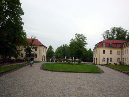 Innenhof des Schlosses.