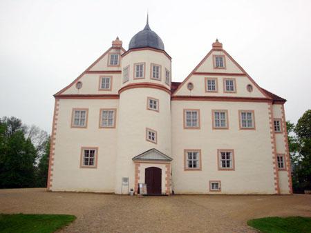 Das markante Schloß von Königs Wusterhausen.