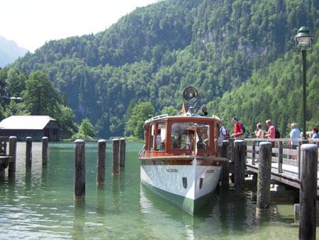 Elektroboot Königssee