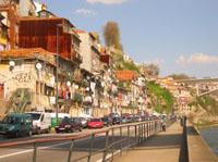 Strasse in Lissabon