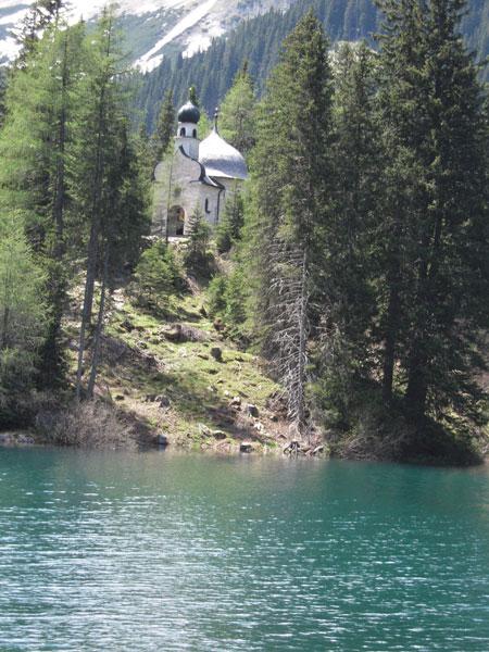 Obernberger See Kapelle