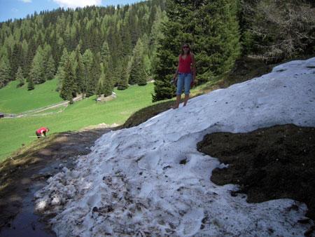 Schneefeld Obernberger See