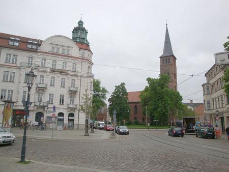 Altstadt mit Kirche