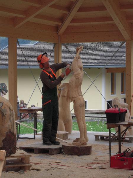Herstellen einer Skulptur
