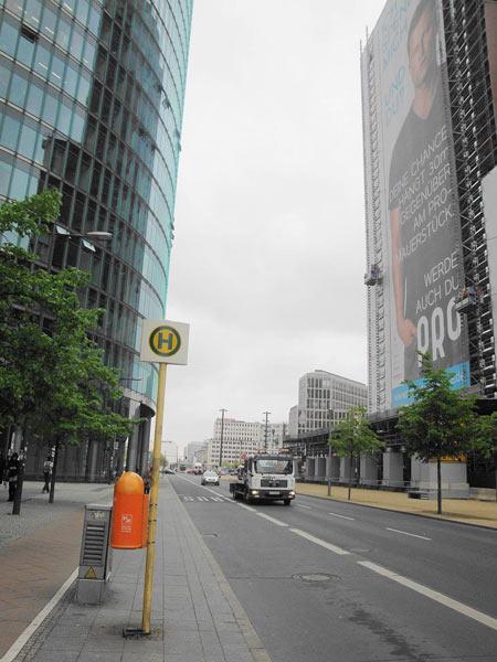 Häuserschlucht Sony - Center