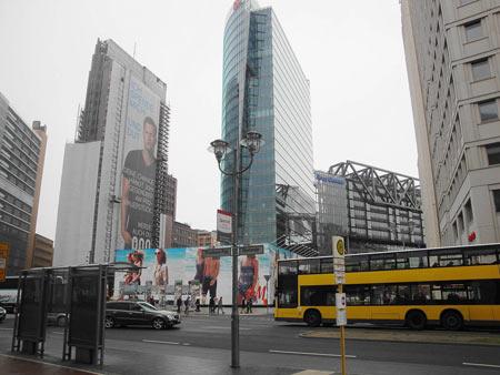 Das hochmoderne Sony-Center