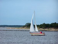 Boot in Lettland