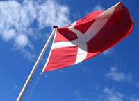 Flagge von Dänemark