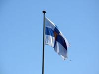 Die Finnische Flagge