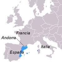 Karte wo Katalanisch gesprochen wird