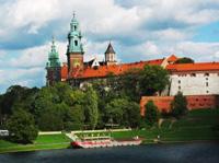 Schloss in Krakau, Polen