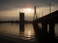 Riga in Lettland