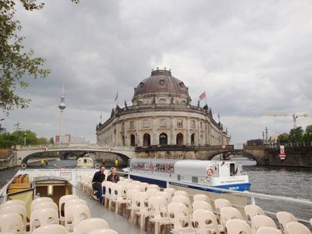 Das Bodemuseum auf der Museumsinsel