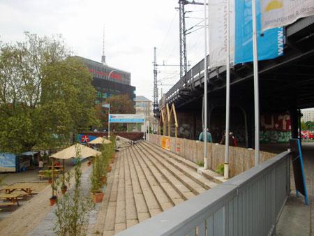 S-Bahnhof und Schiffsanleger