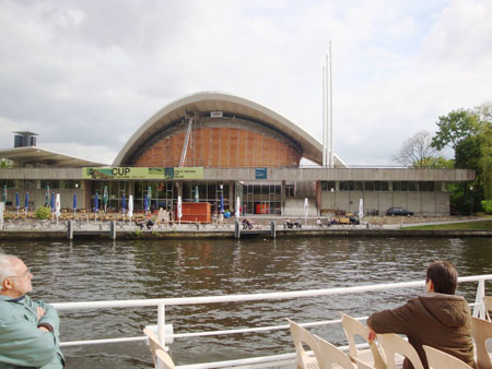 Das Haus der Kulturen der Welt, die ehemalige Kongresshalle