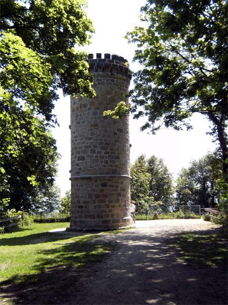 Der Schlossturm von Tecklenburg