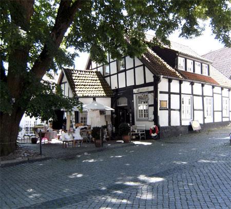 Mir gefallen die Fachwerkhäuser  in  Tecklenburg