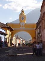 Stadttor in Guatemala