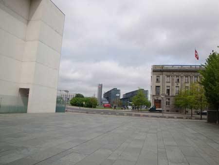 Blick zurück zum Hauptbahnhof