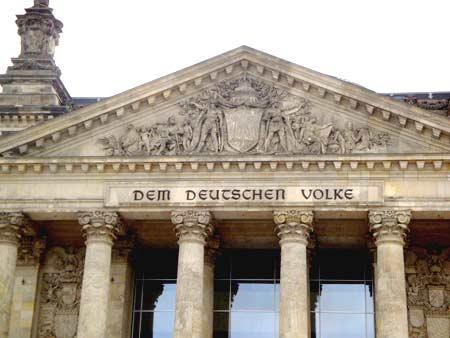 Der Deutsche Bundestag - dem deutschen Volke