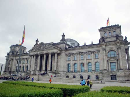 Deutscher Bundestag in Berlin