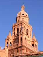 Eine Kirche in Murcia