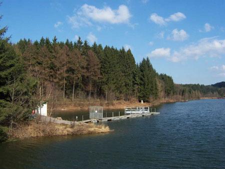 Wasserüberlauf zur Trinkwassergewinnung