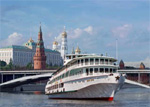 Flusskreuzfahrten auf der Moskwa