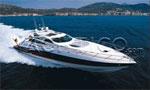 Yacht-Boote charten ab der Costa del Sol, Spanien