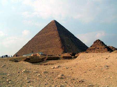 Ägypten Gizeh Pyramide