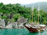 Schiff vor Phuket