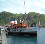 Schiff in Devon, Südwest-England