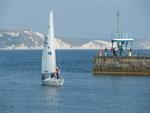 Segelschiff Dorset Südwest-England