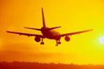Flug in die Karibik