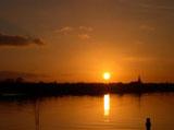 Sonnenuntergang Nantes