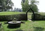 Garten im Urlaub auf Usedom