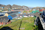 Dorf in Grönland