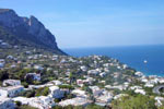 Typische weisse Häuser auf Capri - nahe der Kampanien Ferienwohnungen und Ferienhäuser