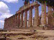 Archäologische Stätte Sizilien